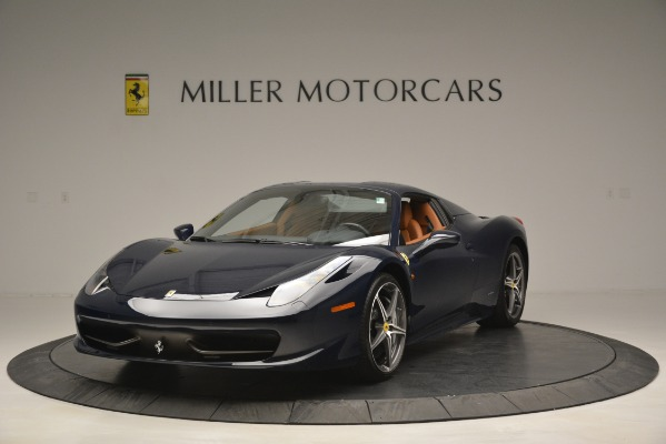 Used 2014 Ferrari 458 Spider for sale Sold at Bentley Greenwich in Greenwich CT 06830 13