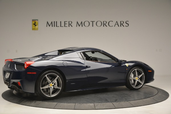 Used 2014 Ferrari 458 Spider for sale Sold at Bentley Greenwich in Greenwich CT 06830 20