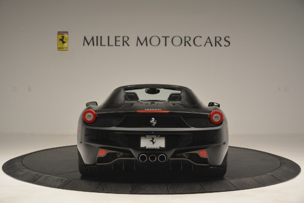 Used 2013 Ferrari 458 Spider for sale Sold at Bentley Greenwich in Greenwich CT 06830 6