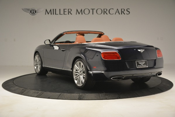 Used 2014 Bentley Continental GT Speed for sale Sold at Bentley Greenwich in Greenwich CT 06830 5