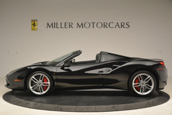 Used 2018 Ferrari 488 Spider for sale Sold at Bentley Greenwich in Greenwich CT 06830 3