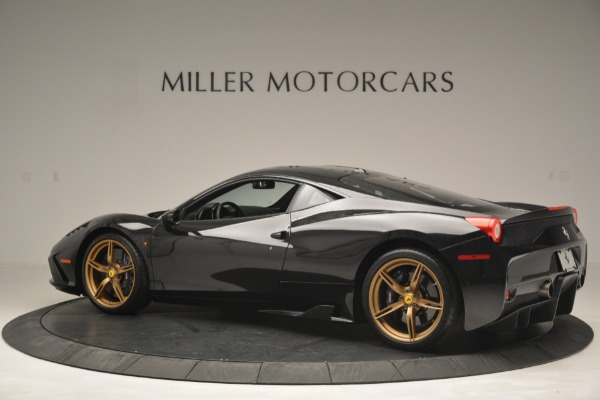 Used 2014 Ferrari 458 Speciale for sale Sold at Bentley Greenwich in Greenwich CT 06830 4