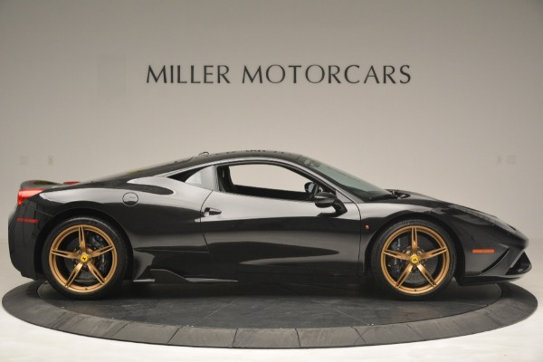 Used 2014 Ferrari 458 Speciale for sale Sold at Bentley Greenwich in Greenwich CT 06830 9