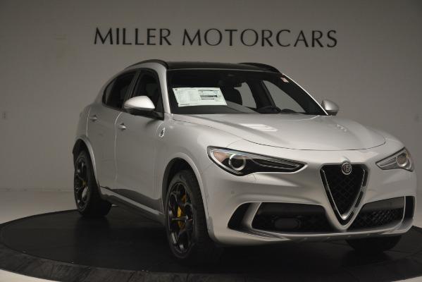 New 2019 Alfa Romeo Stelvio Quadrifoglio for sale $86,440 at Bentley Greenwich in Greenwich CT 06830 11