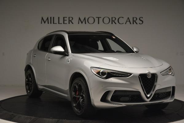 New 2019 Alfa Romeo Stelvio Quadrifoglio for sale Sold at Bentley Greenwich in Greenwich CT 06830 11