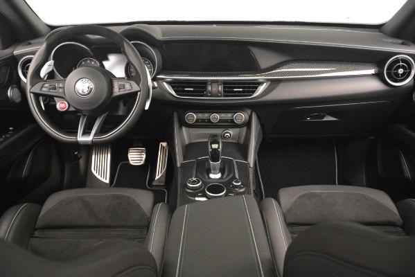 New 2019 Alfa Romeo Stelvio Quadrifoglio for sale Sold at Bentley Greenwich in Greenwich CT 06830 17