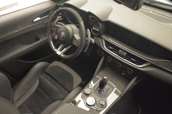 New 2019 Alfa Romeo Stelvio Quadrifoglio for sale Sold at Bentley Greenwich in Greenwich CT 06830 18