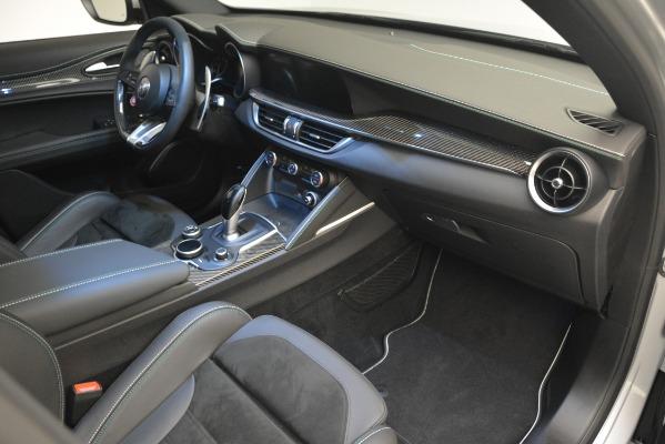 New 2019 Alfa Romeo Stelvio Quadrifoglio for sale Sold at Bentley Greenwich in Greenwich CT 06830 27