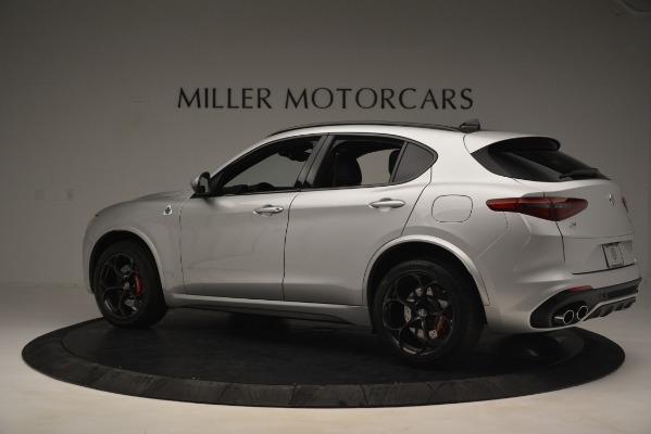 New 2019 Alfa Romeo Stelvio Quadrifoglio for sale Sold at Bentley Greenwich in Greenwich CT 06830 4