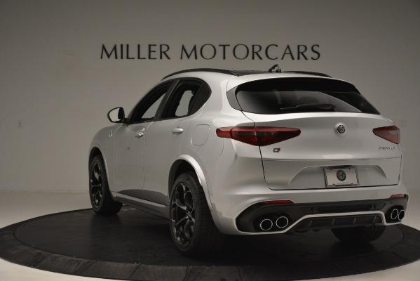 New 2019 Alfa Romeo Stelvio Quadrifoglio for sale Sold at Bentley Greenwich in Greenwich CT 06830 5