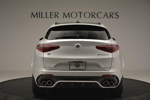 New 2019 Alfa Romeo Stelvio Quadrifoglio for sale Sold at Bentley Greenwich in Greenwich CT 06830 6
