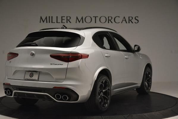New 2019 Alfa Romeo Stelvio Quadrifoglio for sale Sold at Bentley Greenwich in Greenwich CT 06830 7