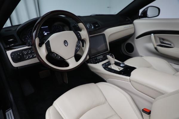 New 2019 Maserati GranTurismo Sport Convertible for sale Sold at Bentley Greenwich in Greenwich CT 06830 19