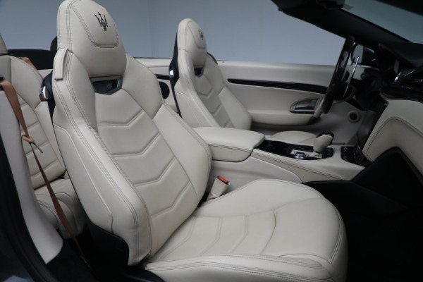 New 2019 Maserati GranTurismo Sport Convertible for sale Sold at Bentley Greenwich in Greenwich CT 06830 23