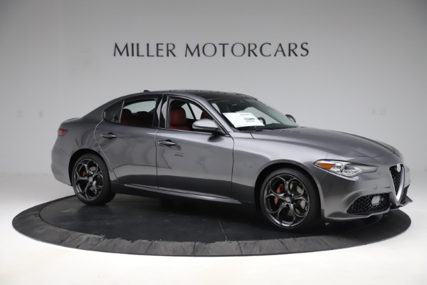 New 2019 Alfa Romeo Giulia Ti Sport Q4 for sale Sold at Bentley Greenwich in Greenwich CT 06830 10