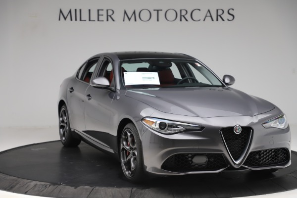 New 2019 Alfa Romeo Giulia Ti Sport Q4 for sale Sold at Bentley Greenwich in Greenwich CT 06830 11