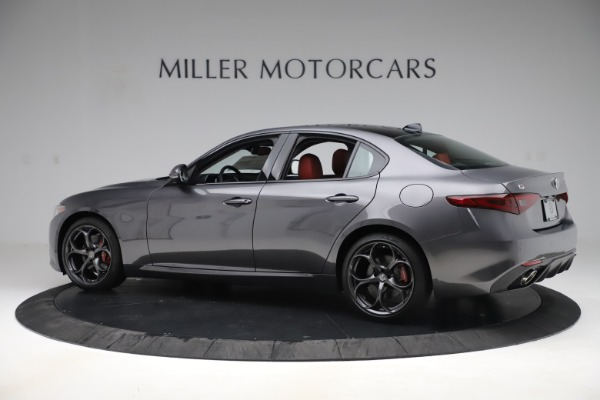 New 2019 Alfa Romeo Giulia Ti Sport Q4 for sale Sold at Bentley Greenwich in Greenwich CT 06830 4