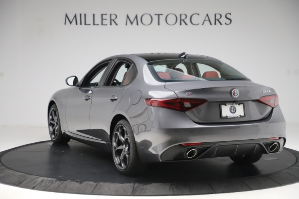 New 2019 Alfa Romeo Giulia Ti Sport Q4 for sale Sold at Bentley Greenwich in Greenwich CT 06830 5