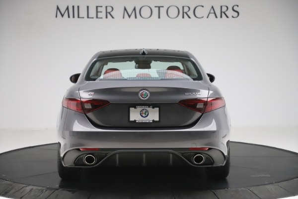 New 2019 Alfa Romeo Giulia Ti Sport Q4 for sale Sold at Bentley Greenwich in Greenwich CT 06830 6