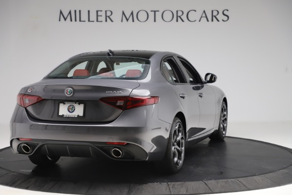 New 2019 Alfa Romeo Giulia Ti Sport Q4 for sale Sold at Bentley Greenwich in Greenwich CT 06830 7