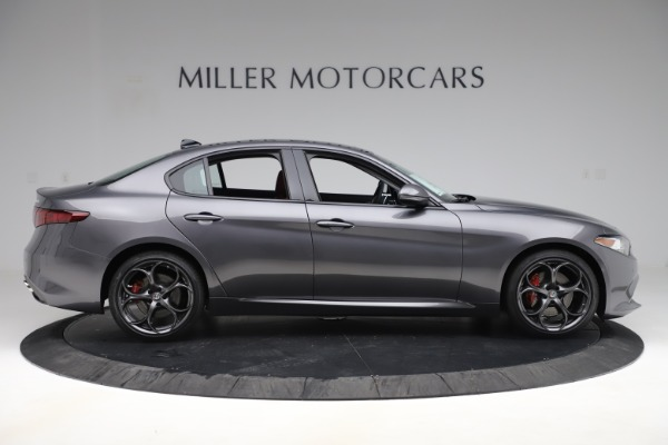 New 2019 Alfa Romeo Giulia Ti Sport Q4 for sale Sold at Bentley Greenwich in Greenwich CT 06830 9