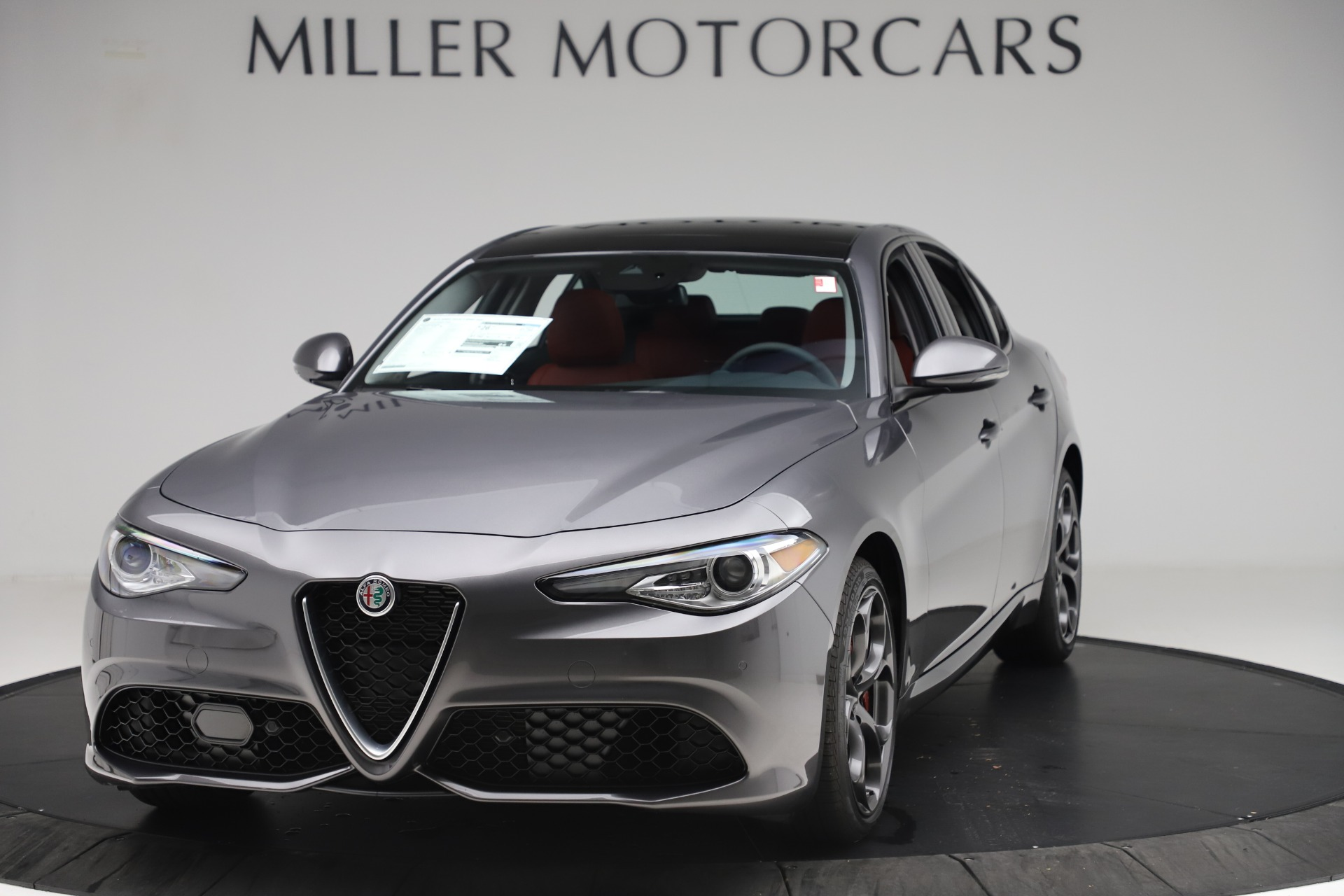 New 2019 Alfa Romeo Giulia Ti Sport Q4 for sale Sold at Bentley Greenwich in Greenwich CT 06830 1