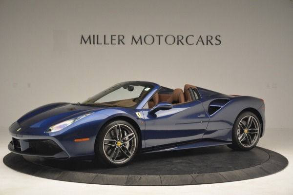 Used 2018 Ferrari 488 Spider for sale $289,900 at Bentley Greenwich in Greenwich CT 06830 2