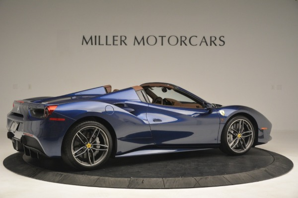 Used 2018 Ferrari 488 Spider for sale $289,900 at Bentley Greenwich in Greenwich CT 06830 8