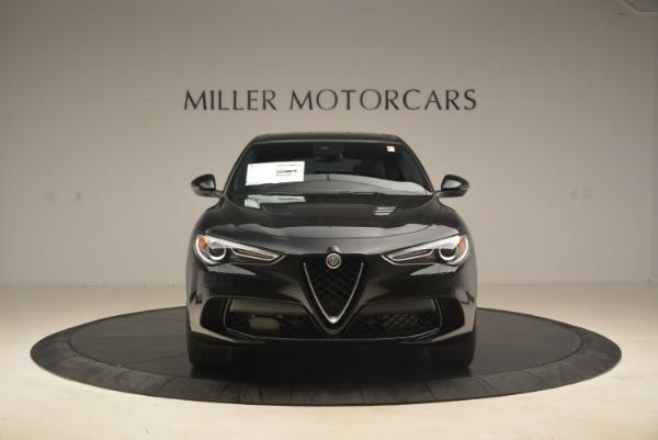 New 2019 Alfa Romeo Stelvio Quadrifoglio for sale $86,440 at Bentley Greenwich in Greenwich CT 06830 12