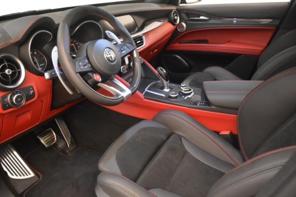 New 2019 Alfa Romeo Stelvio Quadrifoglio for sale $86,440 at Bentley Greenwich in Greenwich CT 06830 13