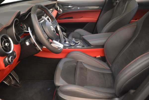 New 2019 Alfa Romeo Stelvio Quadrifoglio for sale $86,440 at Bentley Greenwich in Greenwich CT 06830 14