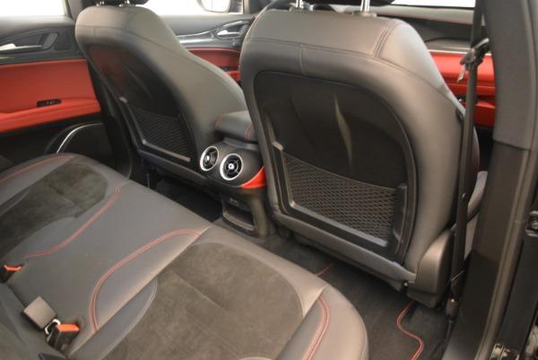 New 2019 Alfa Romeo Stelvio Quadrifoglio for sale $86,440 at Bentley Greenwich in Greenwich CT 06830 22