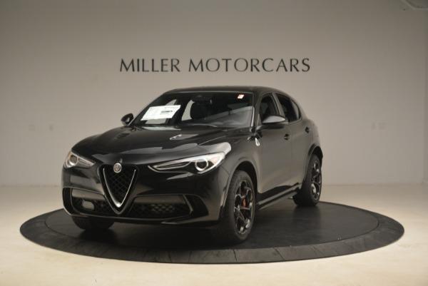 New 2019 Alfa Romeo Stelvio Quadrifoglio for sale $86,440 at Bentley Greenwich in Greenwich CT 06830 1