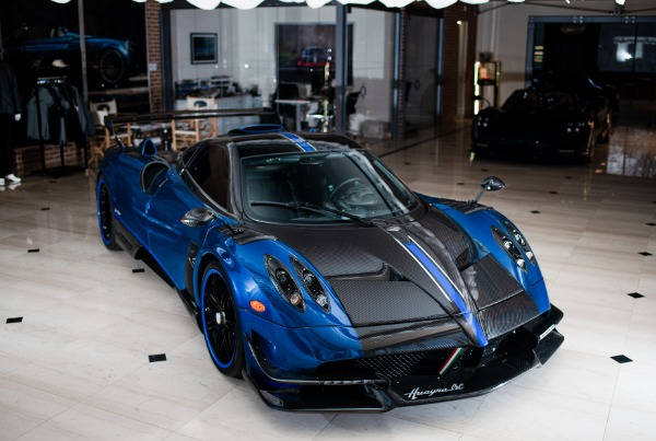 Used 2017 Pagani Huayra BC Macchina Volante for sale Sold at Bentley Greenwich in Greenwich CT 06830 2