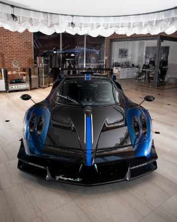 Used 2017 Pagani Huayra BC Macchina Volante for sale Call for price at Bentley Greenwich in Greenwich CT 06830 6