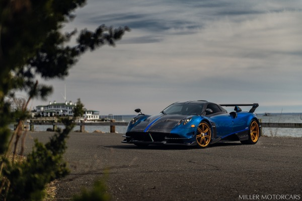 Used 2017 Pagani Huayra BC Macchina Volante for sale Call for price at Bentley Greenwich in Greenwich CT 06830 8