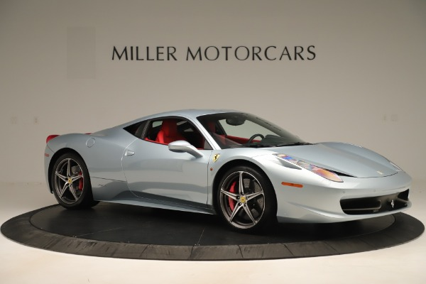 Used 2015 Ferrari 458 Italia for sale $215,900 at Bentley Greenwich in Greenwich CT 06830 10
