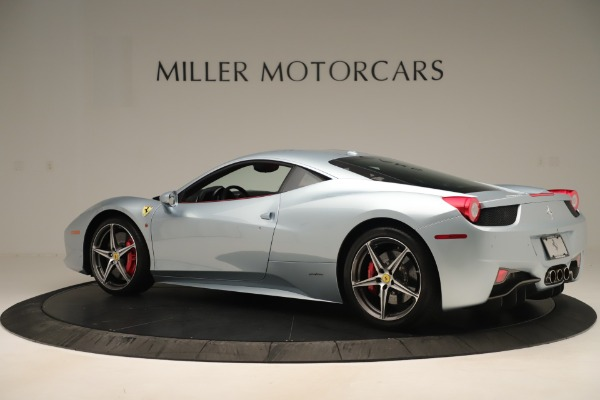 Used 2015 Ferrari 458 Italia for sale Call for price at Bentley Greenwich in Greenwich CT 06830 4