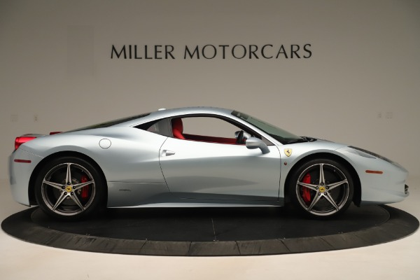 Used 2015 Ferrari 458 Italia for sale $215,900 at Bentley Greenwich in Greenwich CT 06830 9
