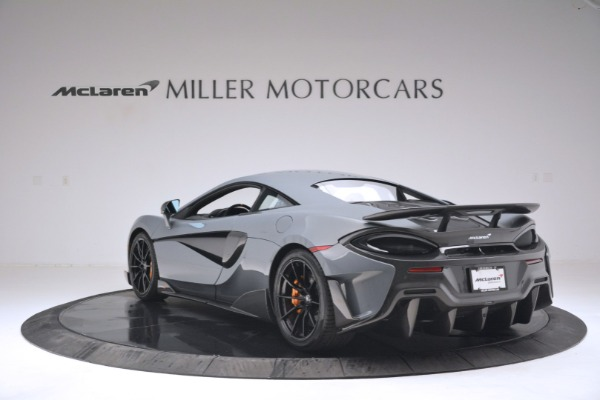 New 2019 McLaren 600LT Coupe for sale Sold at Bentley Greenwich in Greenwich CT 06830 5