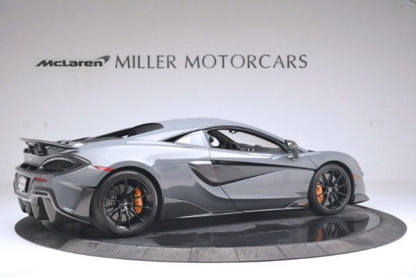 New 2019 McLaren 600LT Coupe for sale Sold at Bentley Greenwich in Greenwich CT 06830 8