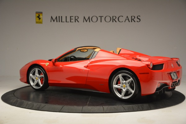Used 2013 Ferrari 458 Spider for sale Sold at Bentley Greenwich in Greenwich CT 06830 4