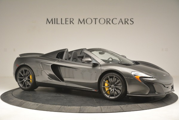 Used 2016 McLaren 650S Spider Convertible for sale Sold at Bentley Greenwich in Greenwich CT 06830 10