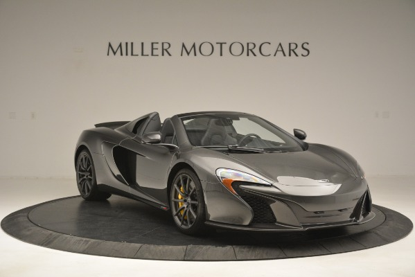 Used 2016 McLaren 650S Spider Convertible for sale Sold at Bentley Greenwich in Greenwich CT 06830 11