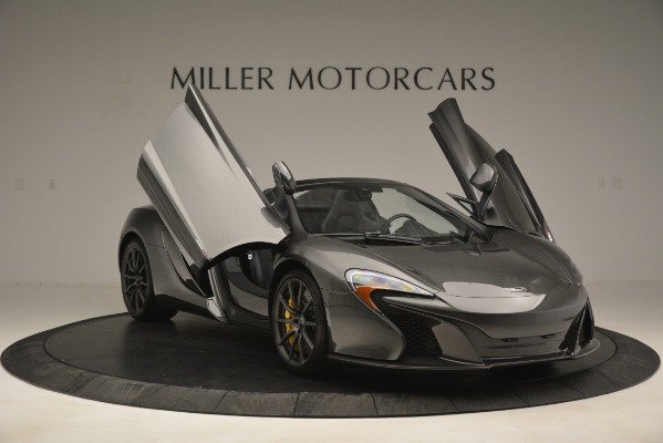 Used 2016 McLaren 650S Spider Convertible for sale Sold at Bentley Greenwich in Greenwich CT 06830 12