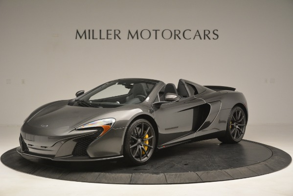 Used 2016 McLaren 650S Spider Convertible for sale Sold at Bentley Greenwich in Greenwich CT 06830 2