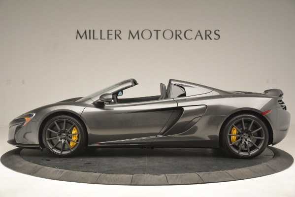 Used 2016 McLaren 650S Spider Convertible for sale Sold at Bentley Greenwich in Greenwich CT 06830 3