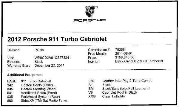 Used 2012 Porsche 911 Turbo for sale Sold at Bentley Greenwich in Greenwich CT 06830 28