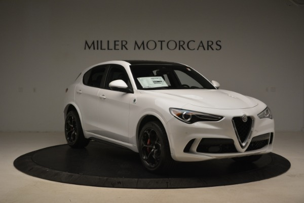New 2019 Alfa Romeo Stelvio Quadrifoglio for sale Sold at Bentley Greenwich in Greenwich CT 06830 12