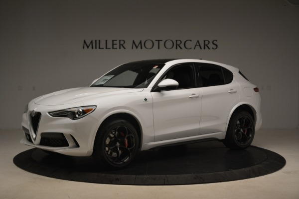 New 2019 Alfa Romeo Stelvio Quadrifoglio for sale Sold at Bentley Greenwich in Greenwich CT 06830 2